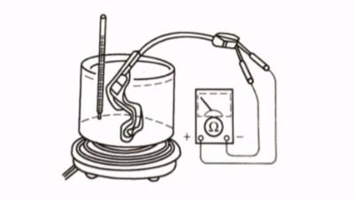自动变速箱油温传感器检测办法