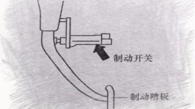 变速箱上电子控制系统各个开关作用