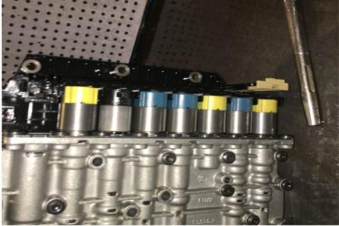 变速箱阀体的检修