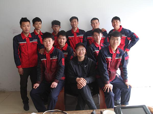 广发团队成员
